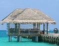 Anlegeplatz für Wasserflugzeuge auf den Malediven
