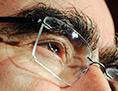 Augenbraue von Theo Waigel