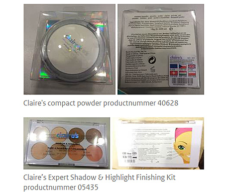 Kompaktpuder und Shadow & Highlight Finishing Kit