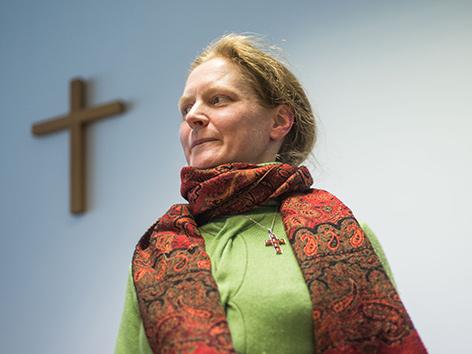 Die angehende Ordensfrau Claudia Schwarz