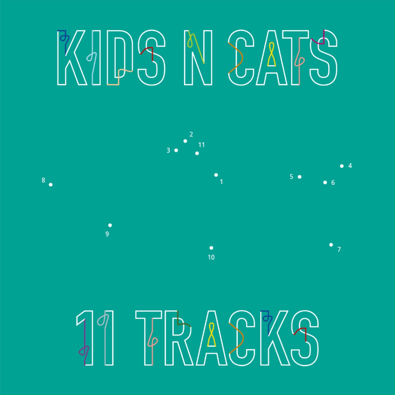 """Cover """"11 Countries"""" Kids N Cats"""