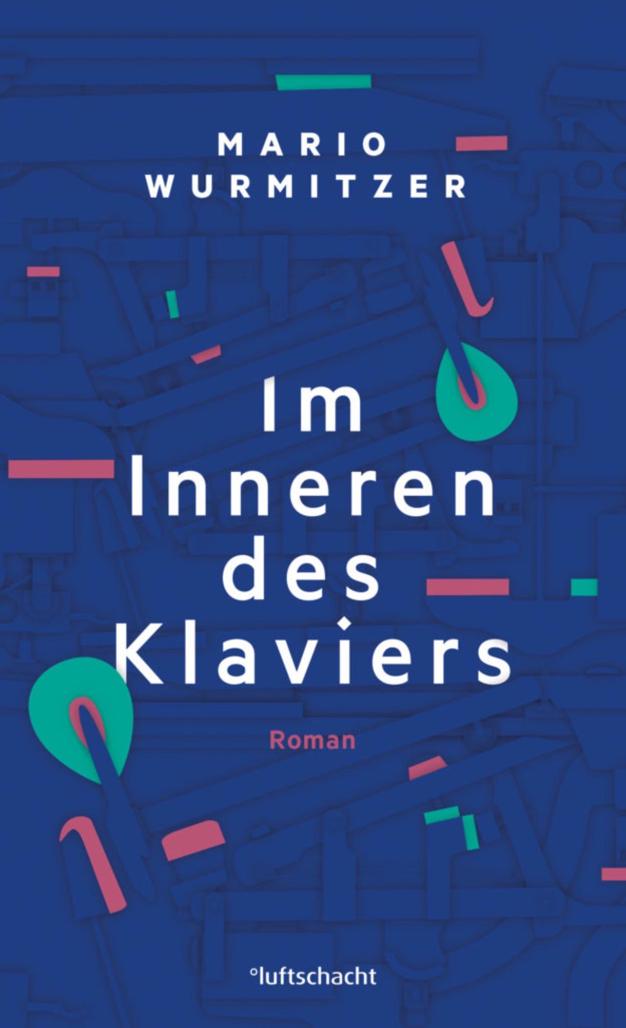 """Cover """"Im Inneren des Klaviers"""" von Mario Wurmitzer"""