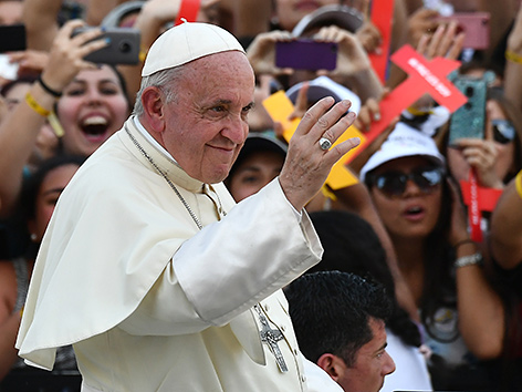 Papst Franziskus in Chile