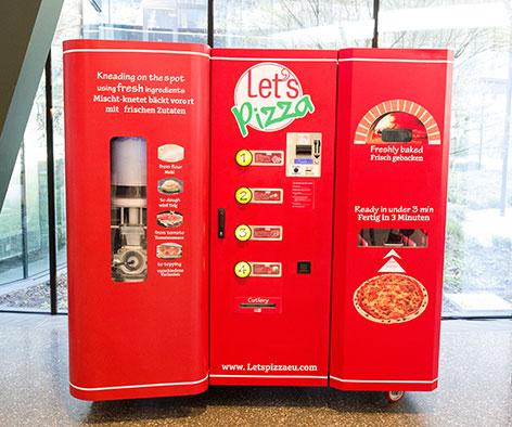 Pizza Automat Let's Pizza