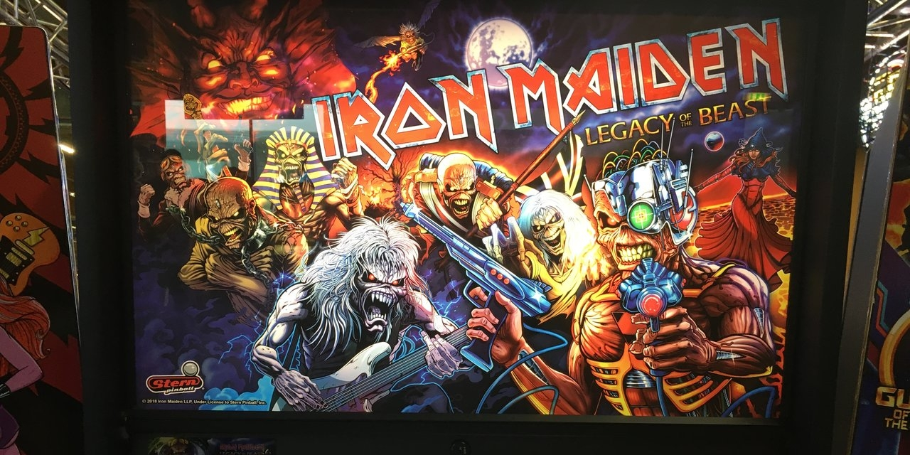 """Iron Maiden""-Flipper"