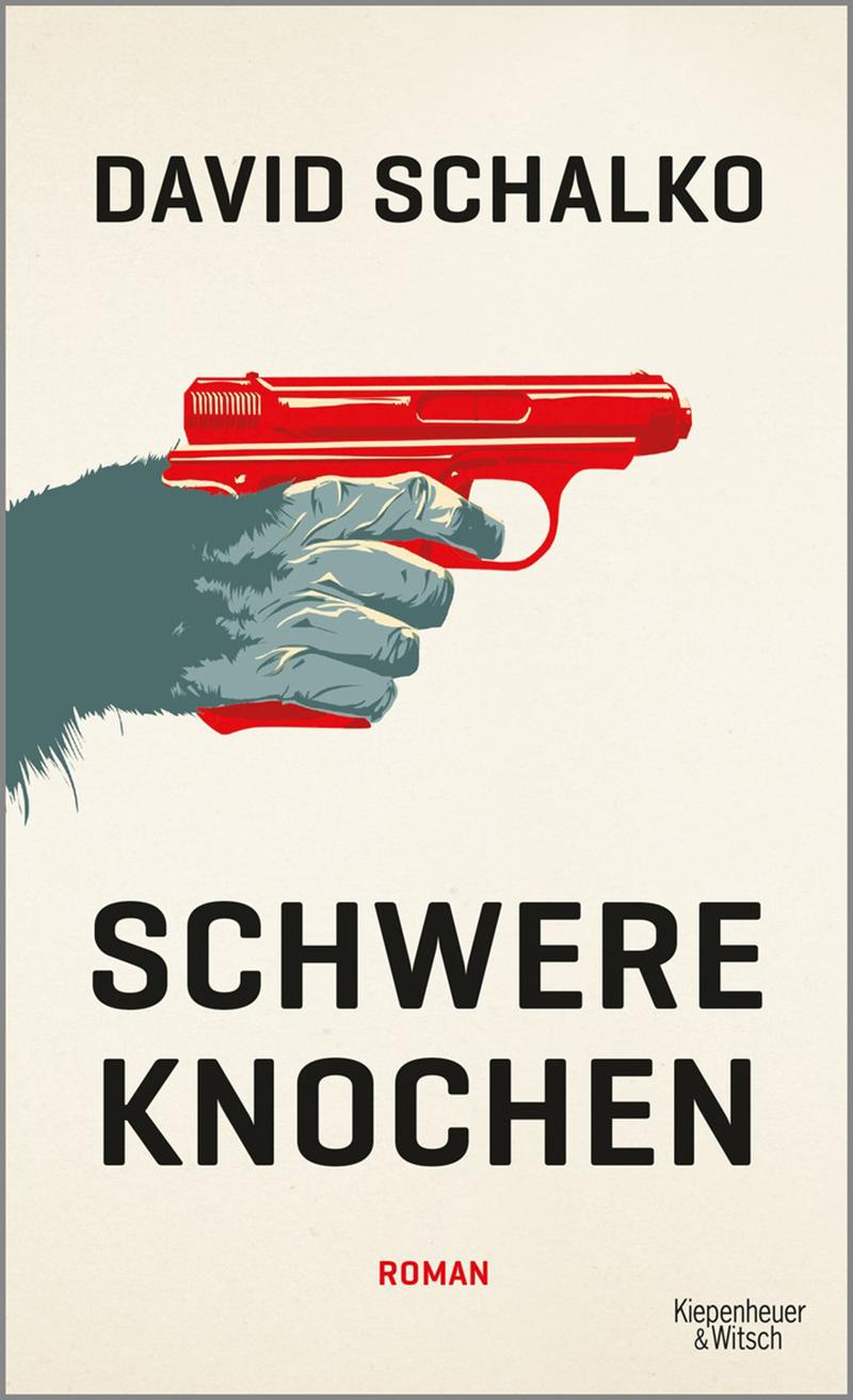 """Cover David Schalko """"Schwere Knochen"""""""