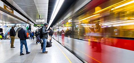 U-Bahn U6 Wien