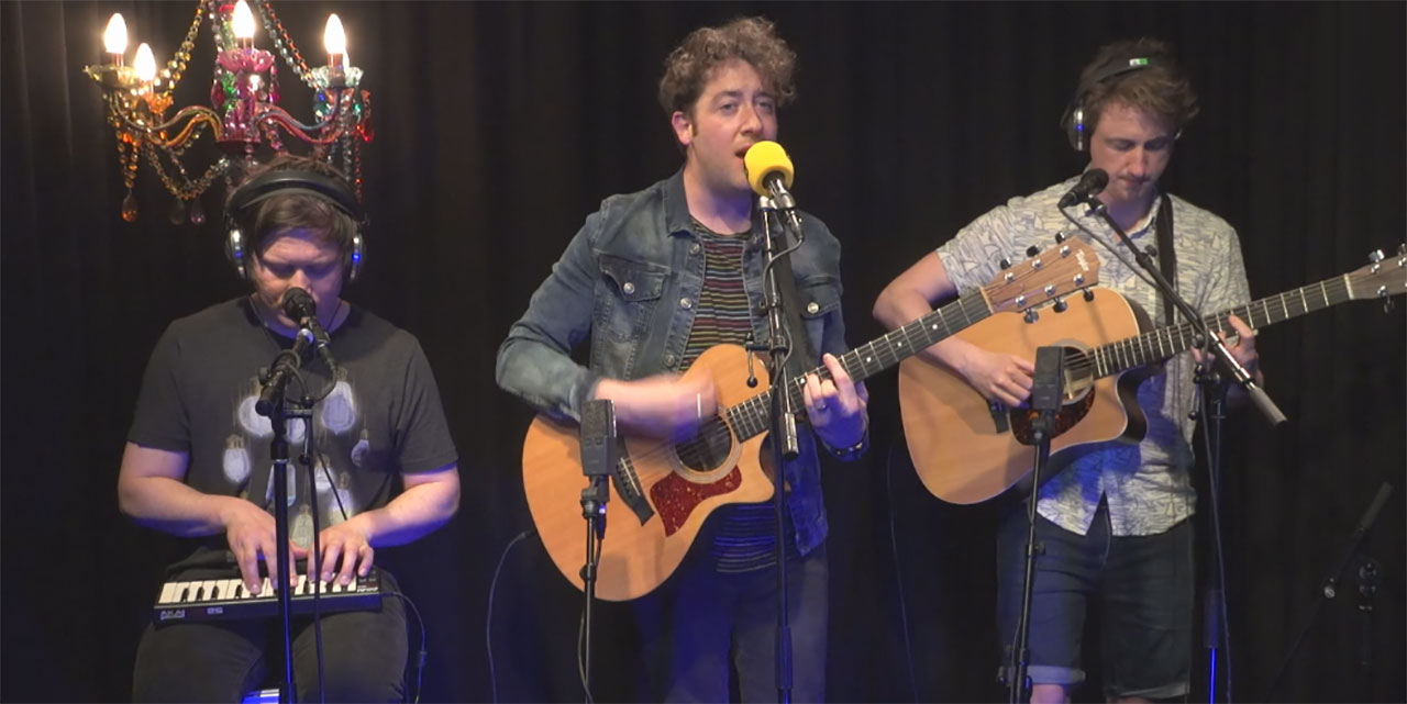 The Wombats bei FM4