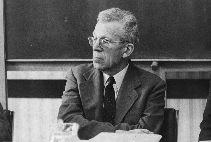 Der österr. Kinderarzt Hans Asperger im Jahr 1971