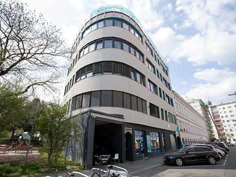 Außenansicht des türkischen Kulturzentrums ATIB in Wien Brigittenau