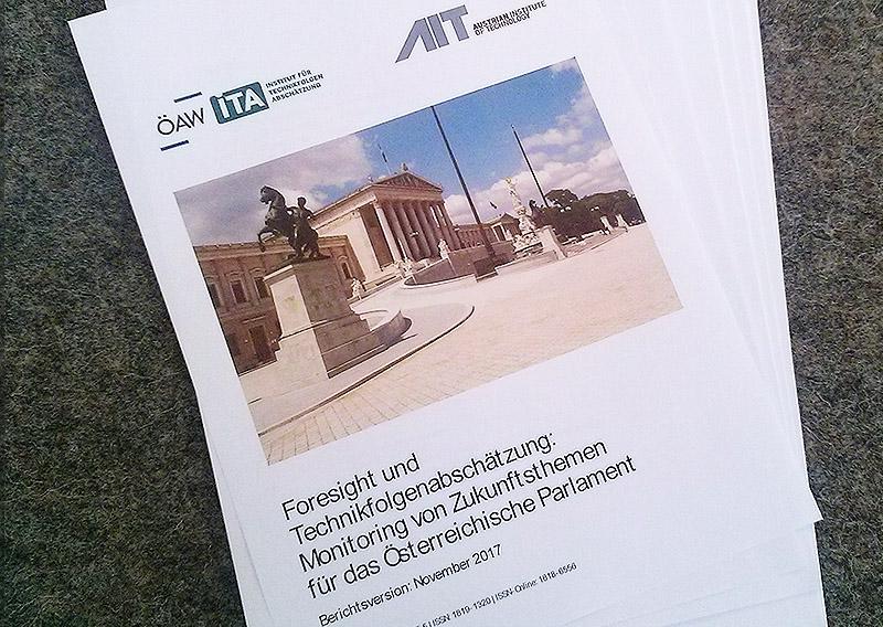 Der Bericht des Instituts für Technikfolgenabschätzung (ITA) und des Austrian Institute of Technology (AIT) für das Parlament.