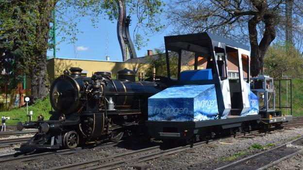 Erster wasserstoffbezogener Personenzug Österreichs