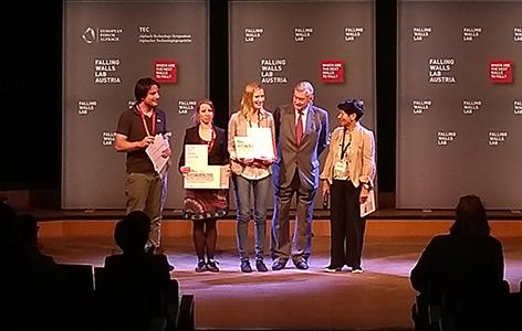 Gewinner des Falling Walls Labs 2018
