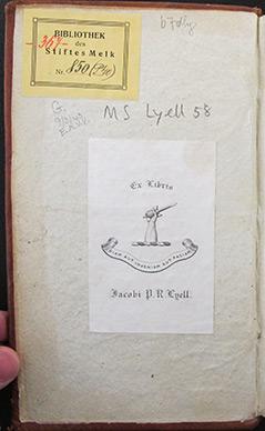 Handschrift des 12. Jahrhunderts aus Stift Melk