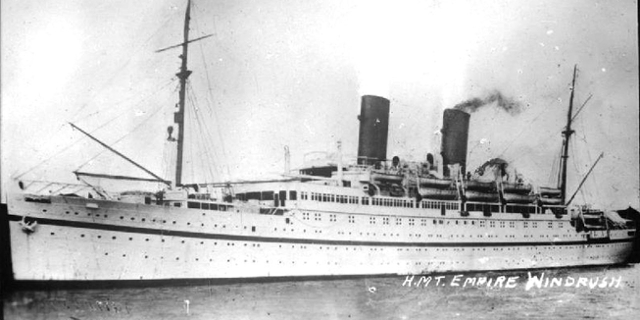 Schiff Empire Windrush