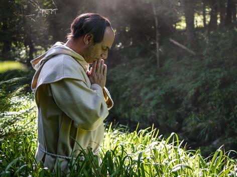 Der irische Mönch Columban missionierte im 6.Jahrhundert Europa
