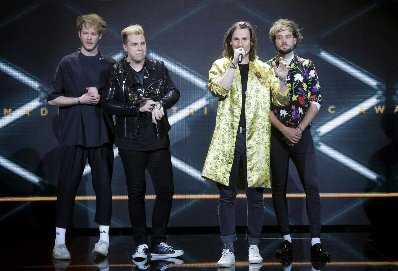 Amadeus Austrian Music Awards mit Farewell Dear Ghost