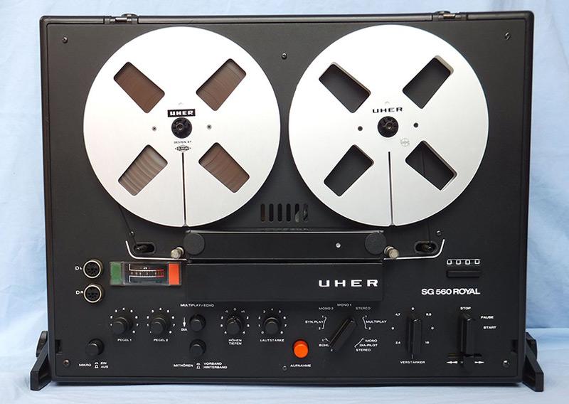 Tonbandgerät Uher SG 560 Royal (1974-1975)