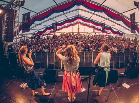 Woodstock der Blasmusik Allerhand Stage