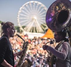 Woodstock der Blasmusik - Bühne Bläser