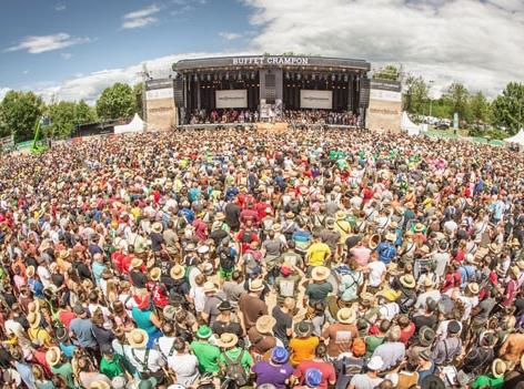 Woodstock der Blasmusik Hauptbühne