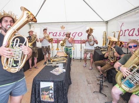 Woodstock der Blasmusik Woodworld