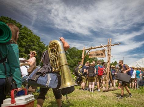 Woodstock der Blasmusik Anreise