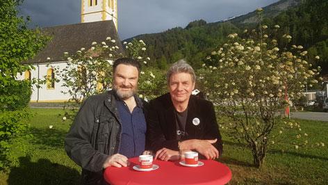 Hakon Hirzenberger und Martin Leutgeb