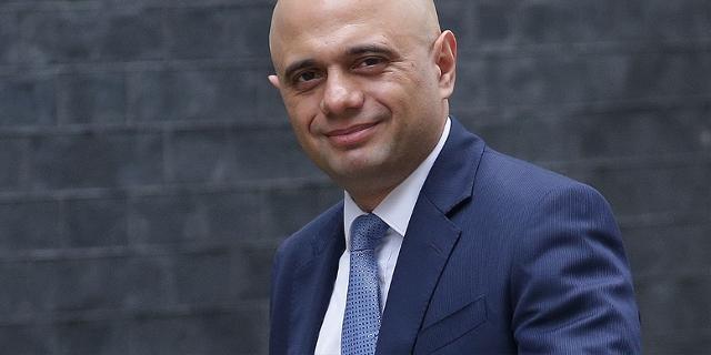 Sajid Javid in der 10 Downing Street