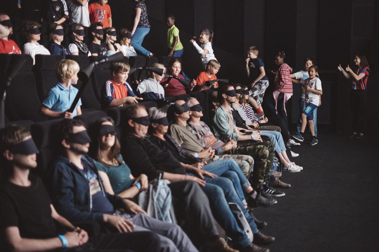 Britt Hatzius - Blind Cinema Donaufestival