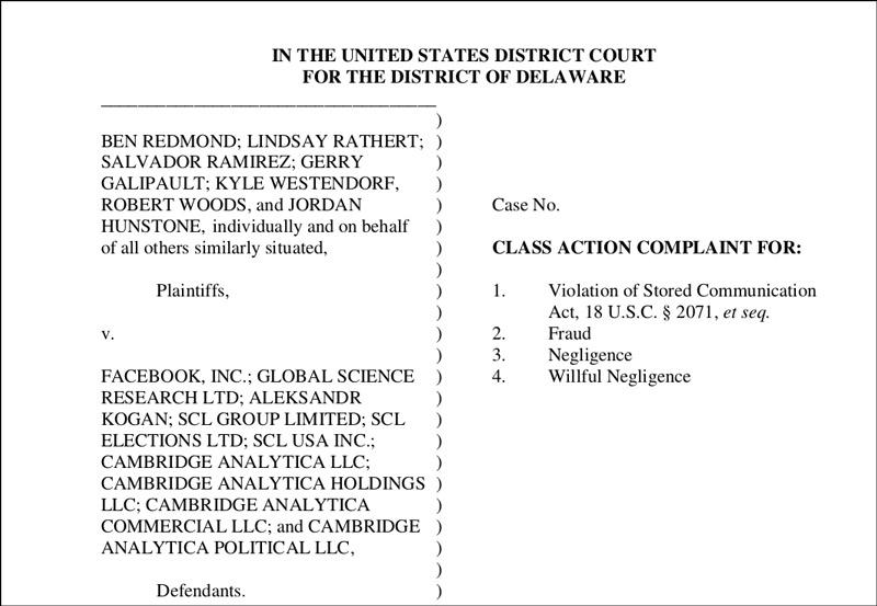 Screenshot eines Dokuments