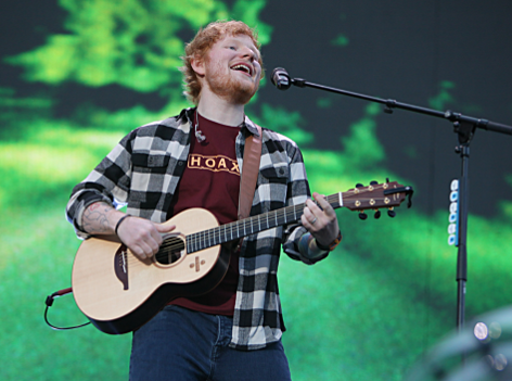 Ed Sheeran beim Europatourstart in Cork/ Irland am 4,5,2018