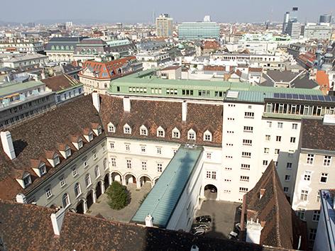 Das erzbischöfliche Palais in Wien