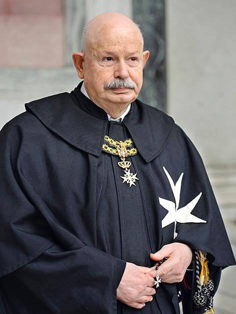 Der neue Chef des Malteser-Ordens, Giacomo Dalla Torre del Tempio di Sanguinetto