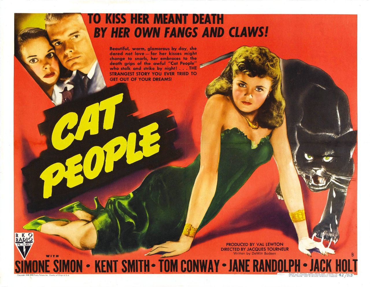 "Filmplakat ""Cat People"""