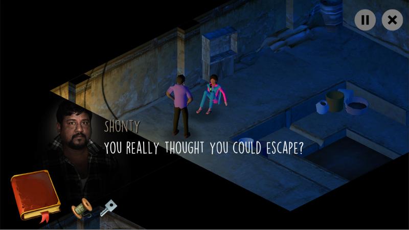 """Bildschirmfoto aus """"Missing - Game for a Cause"""""""