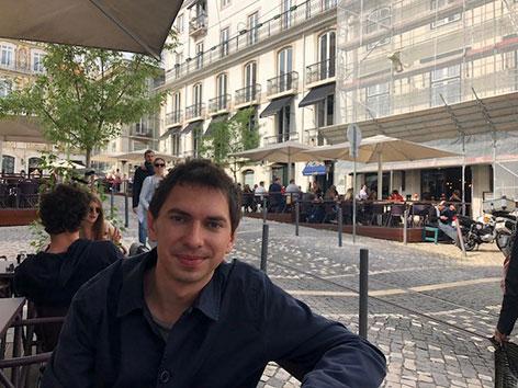 Julian Le Play in Lissabon - im Gespräch mit Clemens Stadlbauer