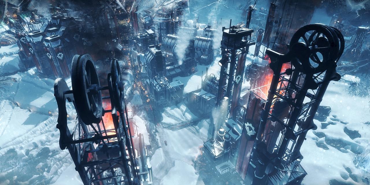 """Die letzte Stadt der Menschheit in """"Frostpunk"""""""