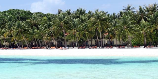 Strand in den Malediven