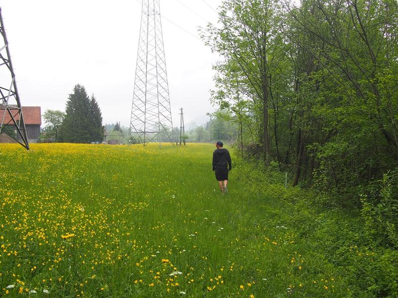 Max Neuböck vor dem Standort der künstlichen Welle an der Traun
