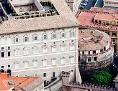 Das Gebäude der Vatikanbank IOR
