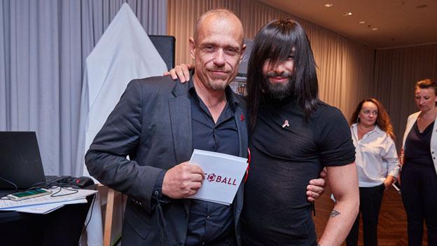 Life Ball Gerry Keszler und Conchita