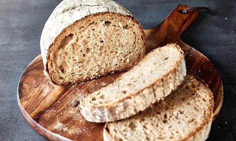 aufgeschnittener Brotlaib