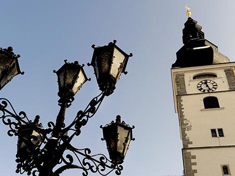 Turm des St. Pöltener Doms