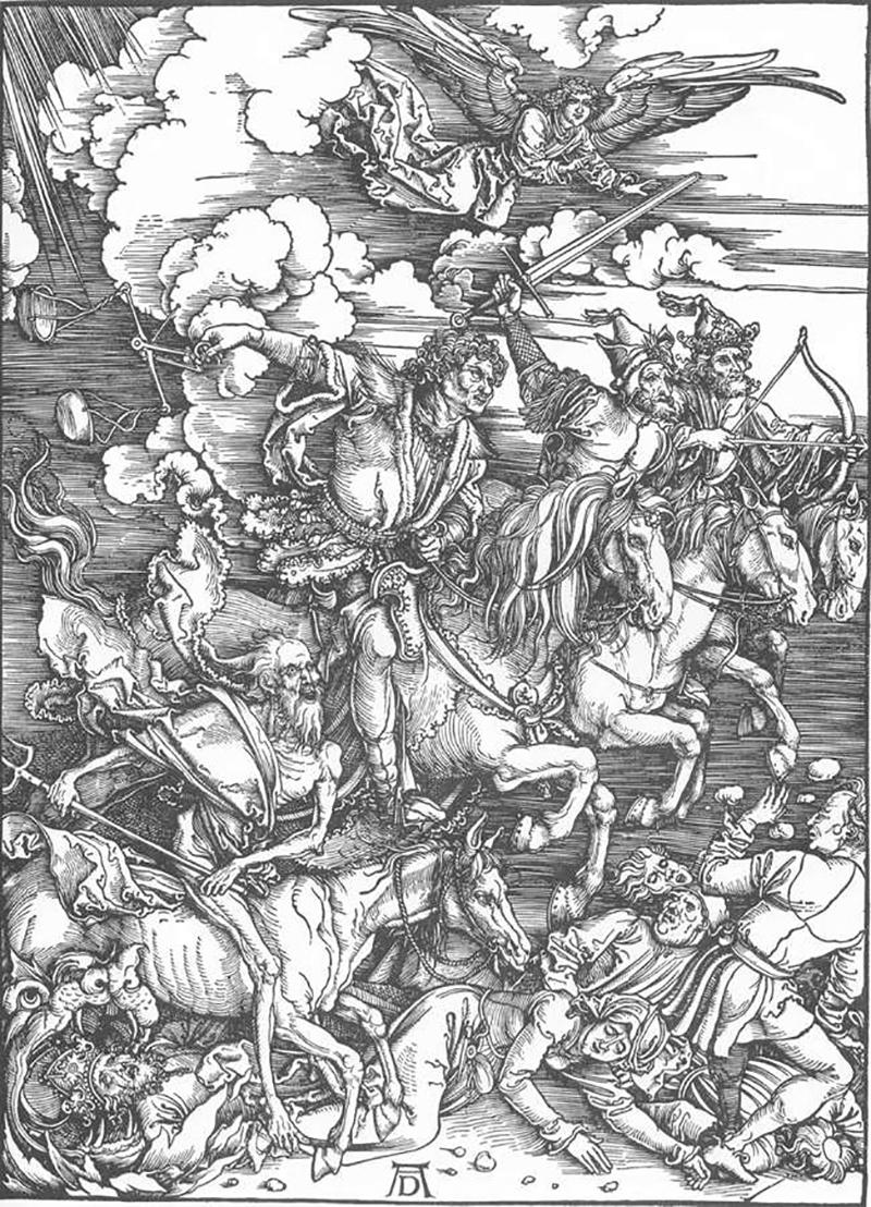 Dürer Apokalypische Reiter
