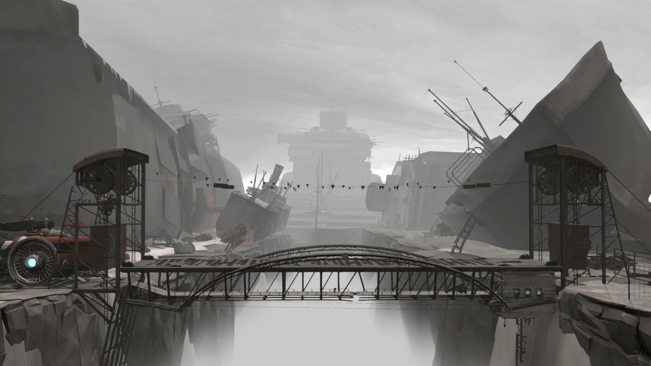 """Screenshot aus """"FAR: Lone Sails"""""""