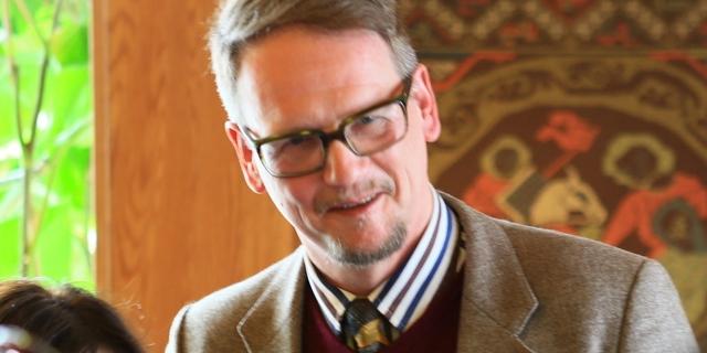 Sjón, at an IWR reading 2015