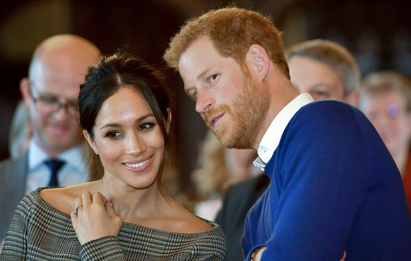 Meghan Markle und Prinz Harry entfernt verwandt  – science.ORF.at