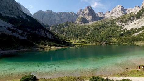Die Schönheit der Alpen