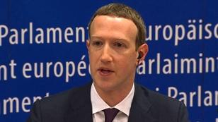 Zuckerberg im EU-Parlament bei Anhörung